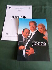 "PRESS SHEET & PRODUCTION NOTES - ""JUNIOR "" ARNOLD SCHWARZENEGGER - DANNY DEVITO"