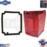 70-2 El Camino Tail Light Lamp Lens W/gasket Usa - Lh