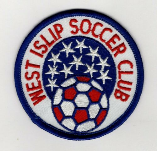 Vintage WEST ISLIP NEW YORK YOUTH SOCCER CLUB PATCH Long Island