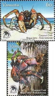 Enthusiastic Vanuatu 1345-1346 Mint Never Hinged Mnh 2008 Protection The Palmendiebe Skillful Manufacture