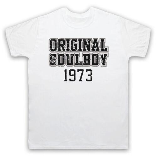 ORIGINAL SOUL BOY 1973 NORTHERN SOUL MUSIC 70/'S DANCE MENS WOMENS KIDS T-SHIRT
