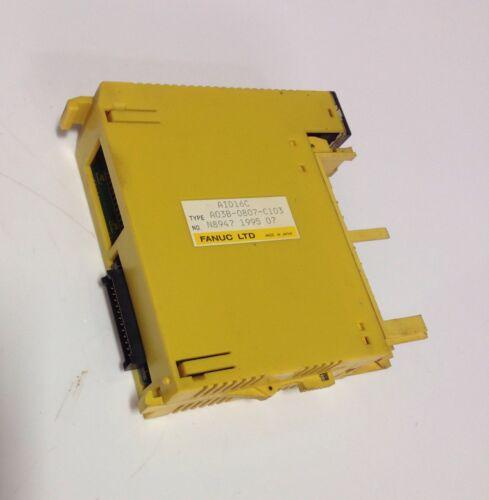 FANUC INPUT MODULE MISSING PLASTIC DOOR AID16C A03B-0807-C103 102511 *PZB*