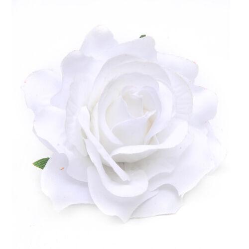2Pcs Rose Flower Hair Clip Flamenco Dancer Pin up Flower Brooch Wedding Party