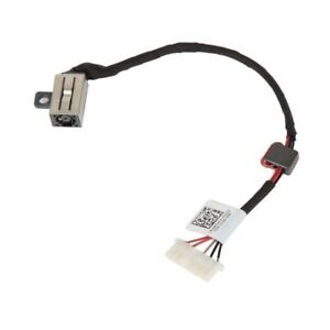 DC POWER JACK HARNESS CABLE FOR DELL Inspiron 14-5458 Vostro 14-3458 DC30100UD00