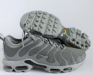 NIKE AIR MAX PLUS TN ULTRA COOL GREY WOLF GREY SZ 9 SAMPLE