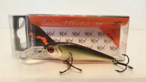 Angel esca doiyo sodu Ukabu 58-GS cucchiaino arte esca luccio persico pesca