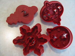 foto de Williams Sonoma Christmas Cookie Cutter Set Stained Glass
