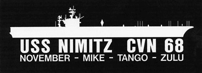 "USS CONSTELLATION CVA 64 Silhouette 4/""x12/""Decals USN"