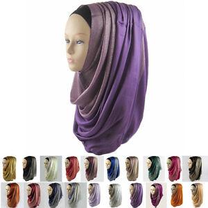 Fashion Head Cover Hijab Islamic Headwear Scarf Arab Cap ...
