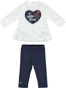 Completo-con-leggings-in-caldo-cotone-Neonata-Minibanda-K777