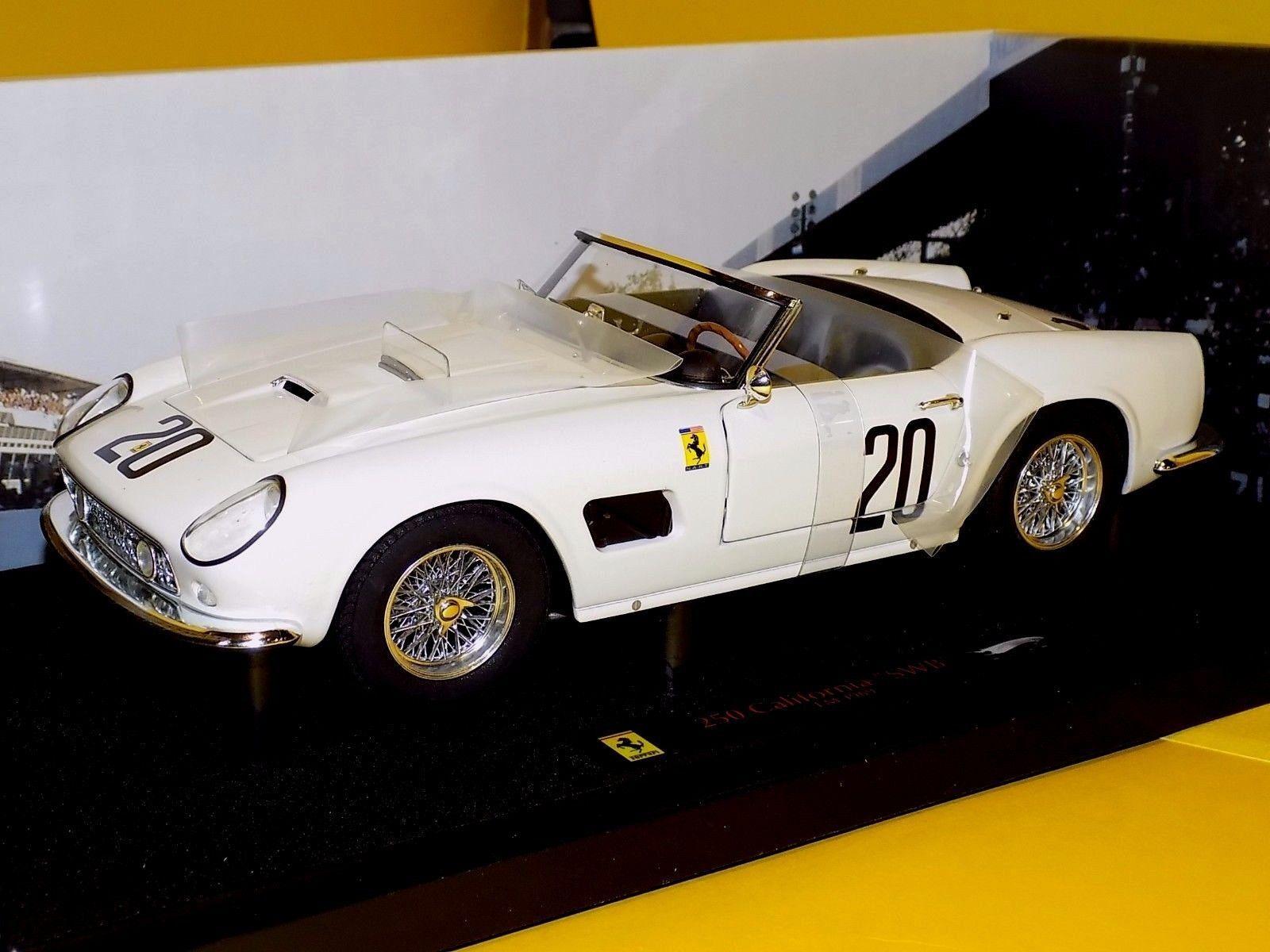 FERRARI 250GT CALIFORNIA Spider 69 No.20 ELITE HOTWHEELS T6931 1 18