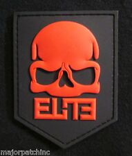 3D RUBBER PVC CALL OF DUTY MODERN WARFARE 3 BLACK OPS RED ELITE VELCRO PATCH