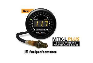 Innovate-MTX-L-PLUS-Air-Fuel-Ratio-Wideband-Gauge-Kit-AFR-O2-Sensor-LSU-4-9-3918