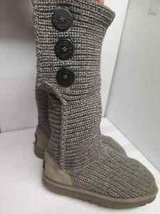 Genuine Ugg Australia Classic Crochet Tall Boots Uk 45 Euro 375 In