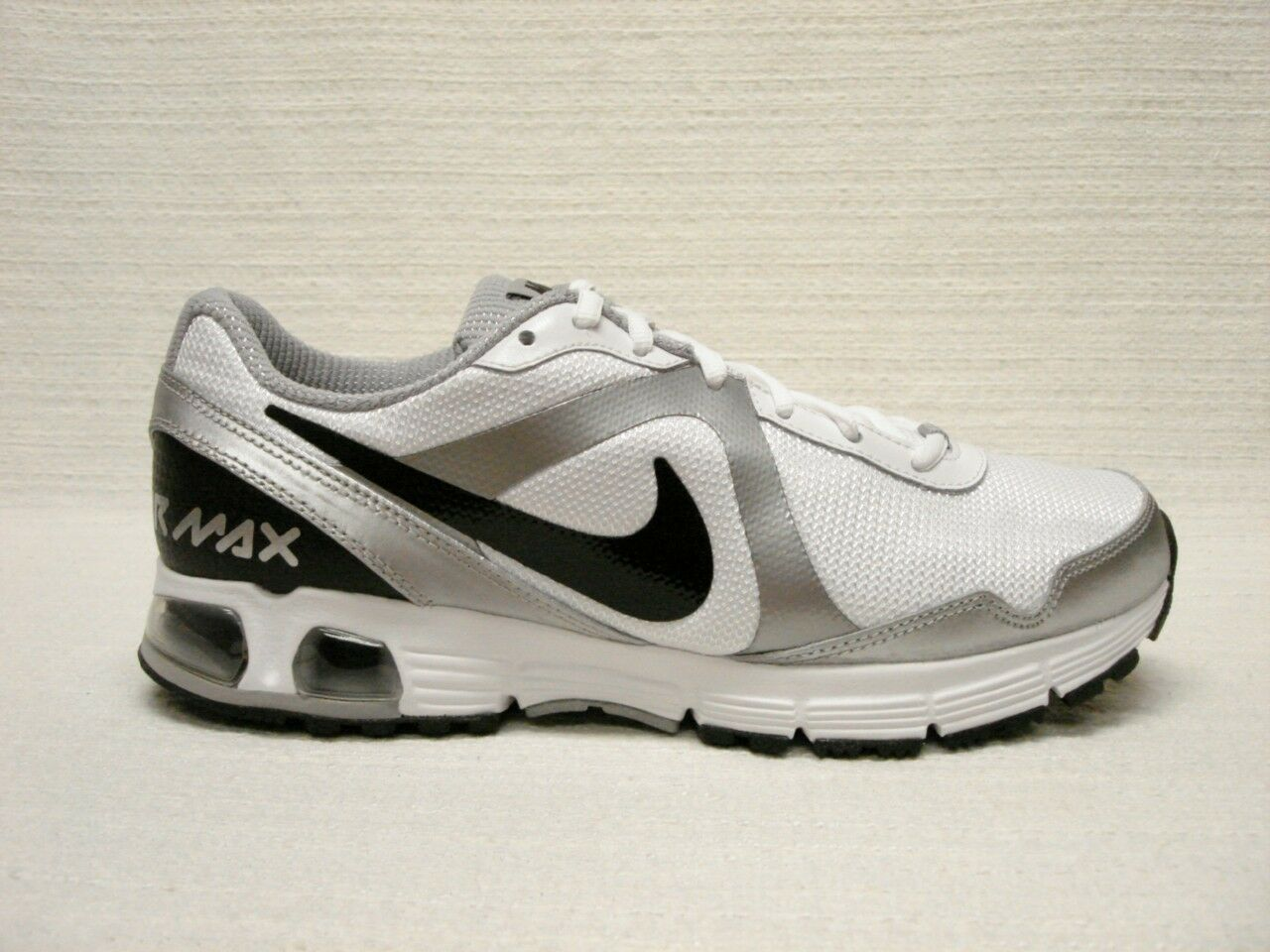 NIB NIKE NIKE NIKE AIR MAX RUN LITE+ MEN'S SHOE'S8.5WHITEBLACK d89436