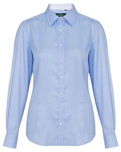 8a729deada6400 Women's Blue Check Baby Paine Alan Shirt Bromford In Ladies ZZ6rw