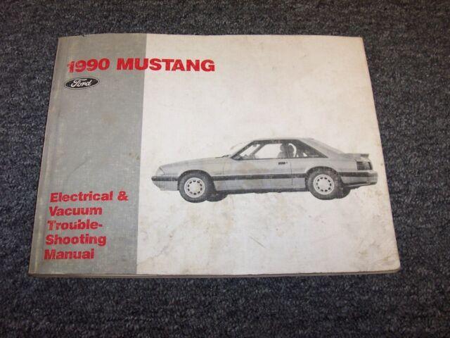 1990 Ford Mustang Electrical Wiring  U0026 Vacuum Diagram