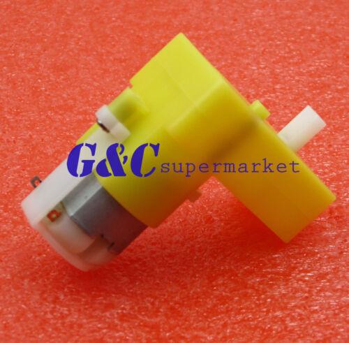 4PCS 3-6V DC Geared Motor Gear Motor Right-angle 1:48 for Smart Car arduino