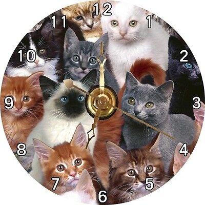 BRAND NEW Bunch of Cats / Cat CD Clock