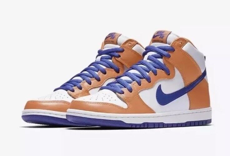 NEW Sz 12 Nike X Danny Supa SB Dunk High QS Safety orange Hyper bluee AH0471-841