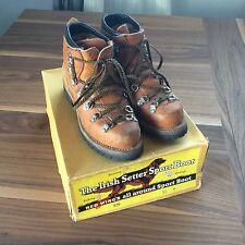 Vintage Red Wing Irish Setter Sport Boots Mens 5.5 Medium Width Vibram Soles USA
