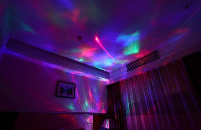 Psychedelic Lamp Light Projector Sensor
