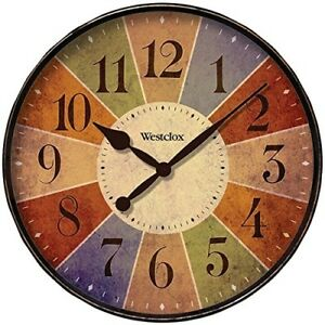 Clock-Wall-Round-12-Inch-Color