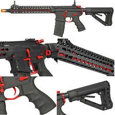 G&G Combat Machine CM16 SRXL RED Airsoft AEG Rifle Keymod RIS Rail ETU MOSFET