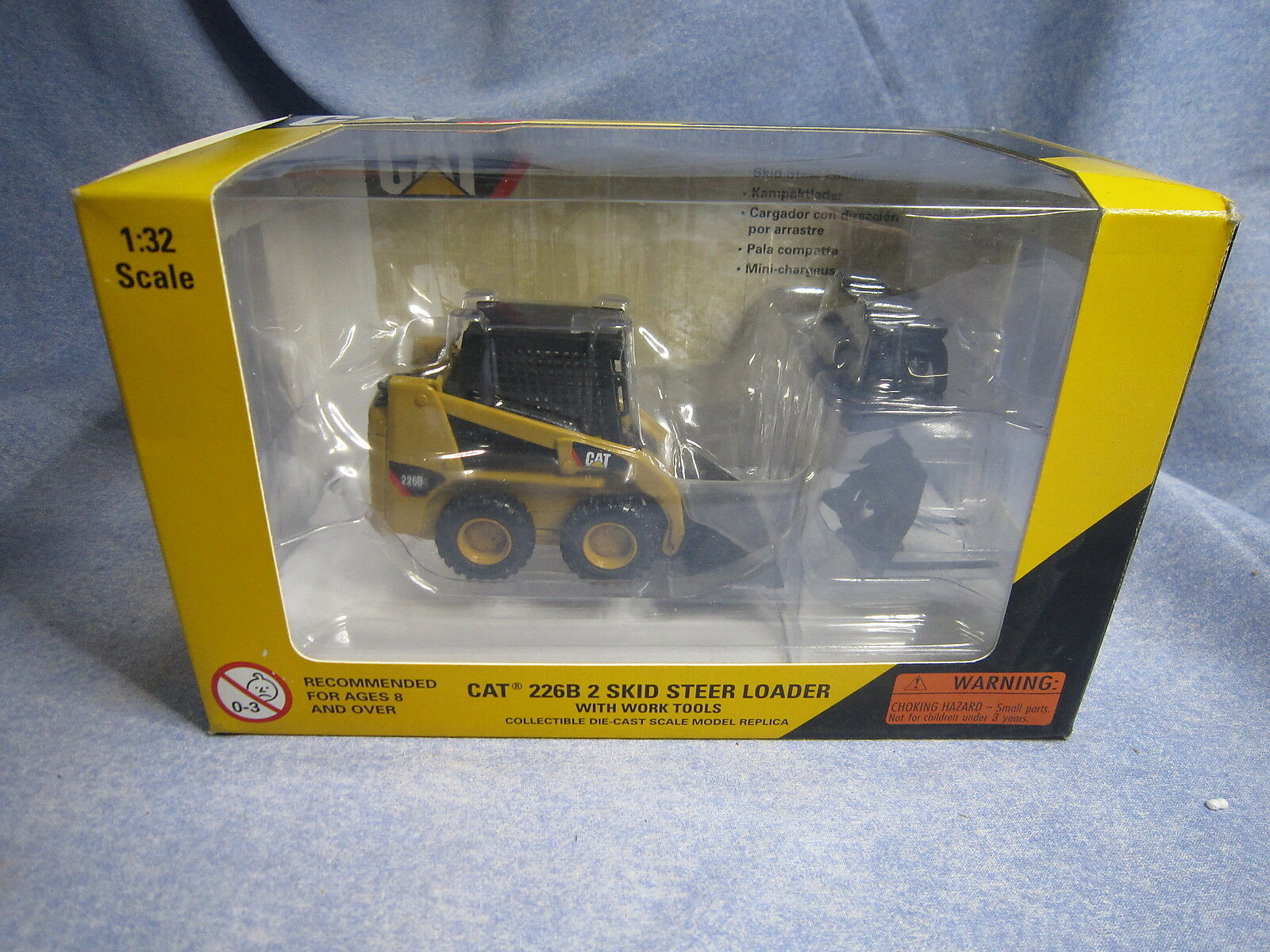 ZA321 ZA321 ZA321 NORSCOT CATERPILLAR 226B 2 SKID STEER LOADER MINI CHARGEUSE REF 55036 1 32 0a1b29