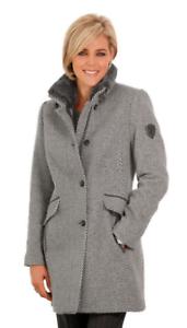Uk 01 199 Ls172 Qq Ladies Rrp £ Jacket 24 Wool Size Lebek qAIwpPP