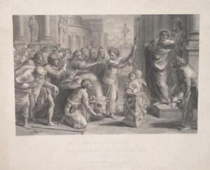 Lystra-Apostle-Paul-Barnabas-Antique-Temple-Victims-Pan-Flote-Hatchet-Ox-Raffael