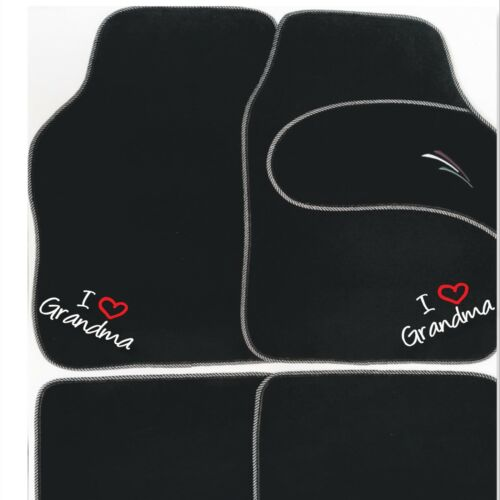 PERSONALISD UNIVERSAL Car mats I~ WE LOVE Uncle Tom Aunty Ethel etc Christmas