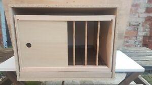 2 x PIGEON NEST BOX (2 pack) Rotating Frame