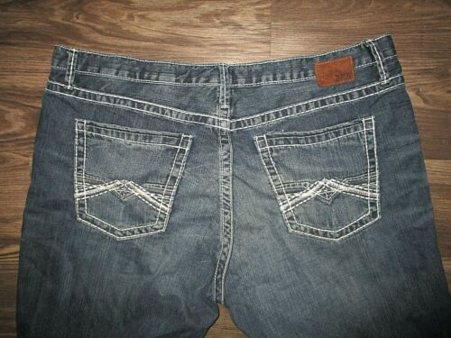 BKE Buckle Jeans Dark Blue Wash 40S
