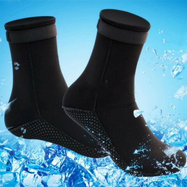 2Pcs Unisex Adult Neoprene Diving Scuba Surfing Swimming Snorkeling Socks 3mm