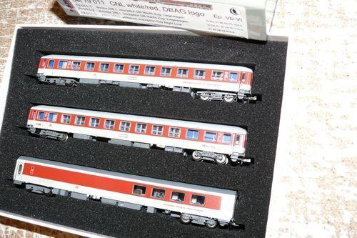 SH L.S. Models 79 011  City Night Line DB AG  set 3 piezas EP. V vi sp n