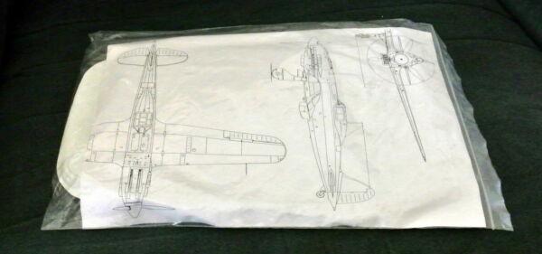 1/48 Macchi Mc.202 Folgore (#5) By C.a. Atkins - Beautiful Vac-form Model Plus M Mode Attrayante