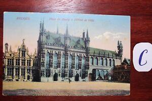 Efficace Carte Postale Vue Carte France Brunes Plaste Borg Hôtel De Ville-afficher Le Titre D'origine