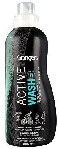 Wash Repel Stubborn odours from all Sportswear Grangers Waterproof Leather