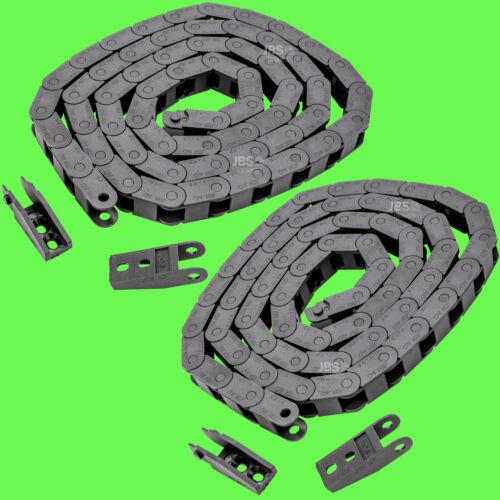 2 lots ► énergie Chaîne 7 x 7 mm 7x7 1 M r18 Câble Direction remorqués Chaîne 3d Canal