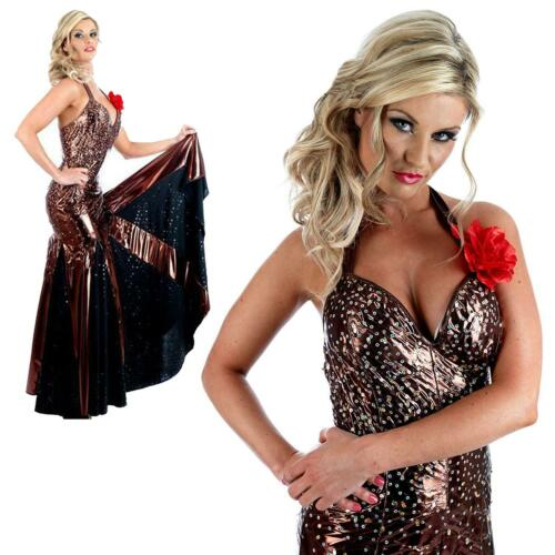 Anton /& Erin Steppin/' Out Tango Dress Fancy Dress Costume 2487 Womens