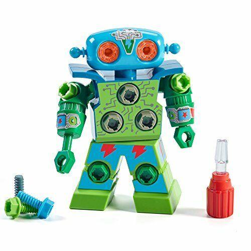 Educational Insights Design /& Drill Robot Green