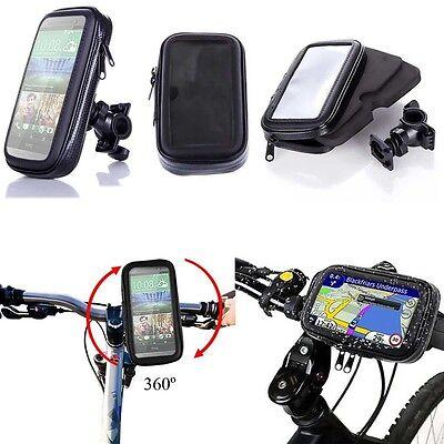 Water Proof Rotating Bicycle Bike Mount Handle Bar Holder Case Apple Samsung