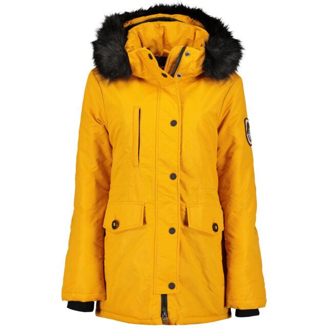 Superdry Ashley Everest Parka Damen Winterjacke amber