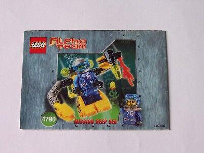 4790 HeißEr Verkauf 50-70% Rabatt Fein Lego® Bauanleitung Instruction Nr
