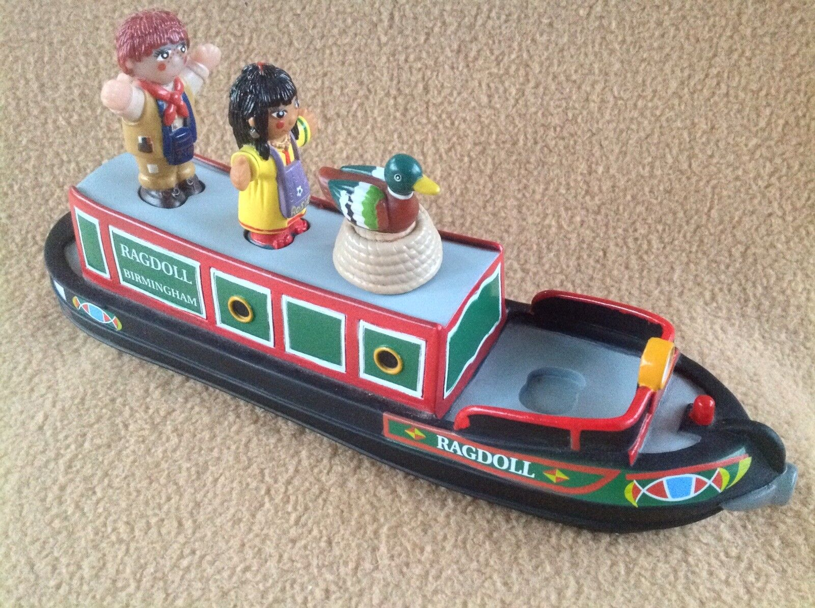 Rosie & Jim Canal Narrowboat Barge Boat with Figures Playset - Complete - Rare