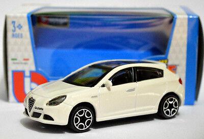 ALFA ROMEO GIULIETTA 1:43 Car NEW Model Diecast Models Die Cast Metal Blue