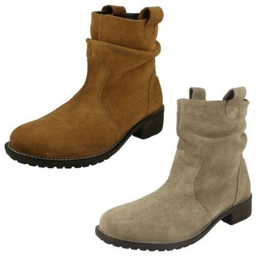 Mujer Leather Collection Tacón Mediano ' ' ' botas Anchas'  Los mejores precios y los estilos más frescos.