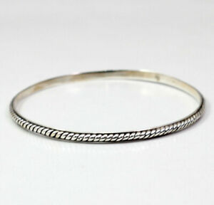 PLAIN-SILVER-DAILY-WEAR-BANGLE-BRACELET-SOLID-925-STERLING-SILVER-JEWELRY-KB1022