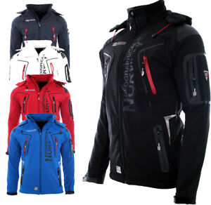 Geographical-Norway-senores-Softshell-chaqueta-lluvia-outdoor-Funktions-chaqueta-Tangata